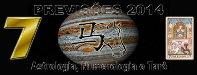 PREVISÕES 2014 – ASTROLOGIA, NUMEROLOGIA E TARÔ